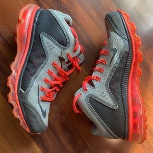 Nike Swingman 8 Gray Neon Golf tennis gym shoe
